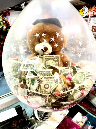 Graduation Money Balloon gift
