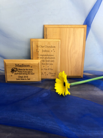 Graduation plaques Personalized engraved gifts