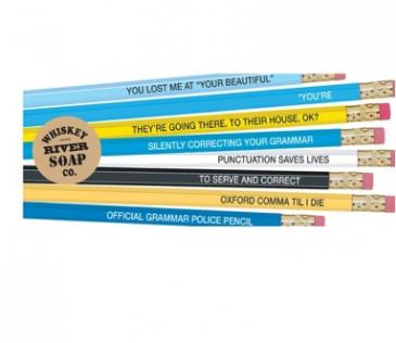 Grammar Police Pencils