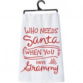 Grammy Christmas Dish Towel