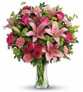 Grand blooms  Vase