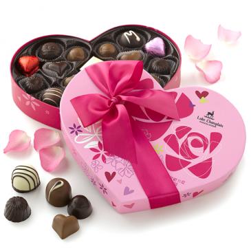 Grand Chocolate Heart Box