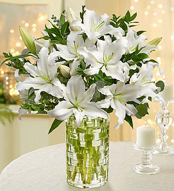 Grand Elegance Lily Bouquet  From Roma Florist