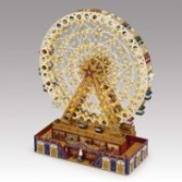 Grand Ferris Wheel Illuminated Musical Gift