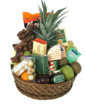 Grand gourmet basket  Gift basket