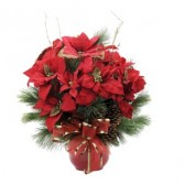 Grand Poinsettia Arrangement
