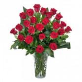 Grande Roses Fresh Flower Arrangement