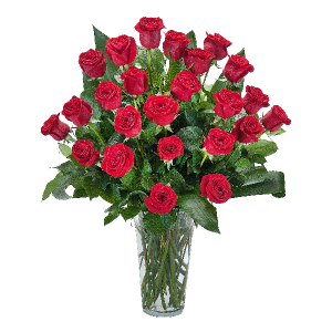 Grande Roses Arrangement in Kannapolis, NC | MIDWAY FLORIST OF KANNAPOLIS