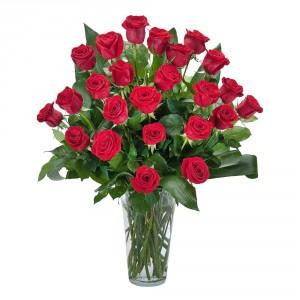 Grande Roses Arrangement in Roswell, NM | BARRINGER'S BLOSSOM SHOP