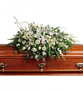 Grandest Glory Casket Spray Fresh flowers