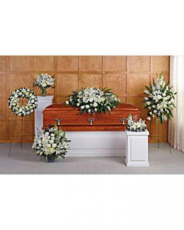 Grandest Glory Collection sympathy arrangements