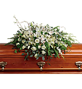 Grandest Glory T281-2A Casket Spray in Moses Lake, WA | FLORAL OCCASIONS