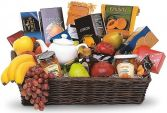GRANDEST GOURMET & FRUIT BASKET