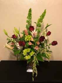 A Grand Romance Keepsake Arrangement