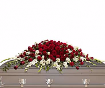 Grandeur Moments Casket Spray