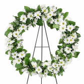 Grandmother's Garden Remembered Wreath Sympathy Wreath