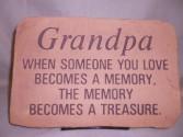 """Grandpa"" Sympathy Stone Sympathy"
