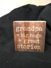 Grandpa Word Block Gifts