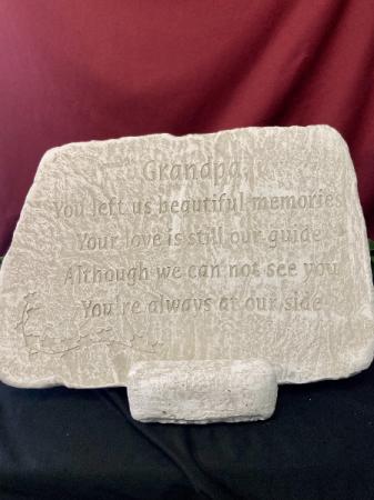 Grandpa - You Left Us Stone