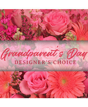 Grandparent's Day Arrangement Designer's Choice in Irving, TX | Flowers of Las Colinas