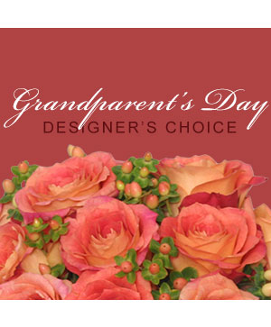 Grandparent's Day Florals Designer's Choice in El Paso, TX | Como La Flor Flowers and Balloons