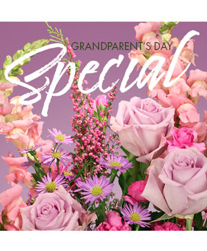 Grandparents Day Special Designer's Choice in Cedar City, UT | Boomer's Bloomers & The Candy Factory