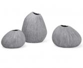 Granite Trio Mini Bud Vase set