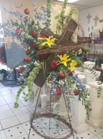 Grapevine Cross Of Peace  Funeral