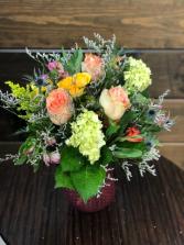 Grateful Garden Bouquet Vase Arrangement  in Coshocton, Ohio   Haley's Floral Studio
