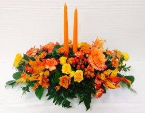 Grateful Gathering Oblong Centerpiece in Boise, ID | HEAVENESSENCE FLORAL & GIFTS