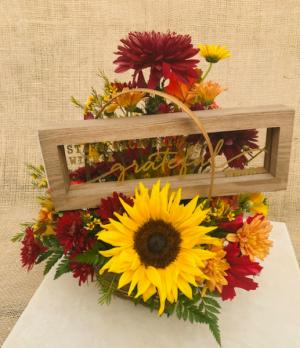 Grateful Heart Basket Arrangement in Coleman, WI | COLEMAN FLORAL & GREENHOUSES