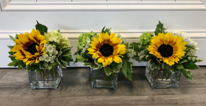 Grateful~Thankful~ Blessed Centerpiece Set in Bluffton, SC | BERKELEY FLOWERS & GIFTS