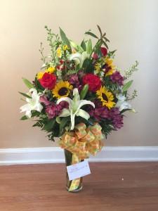 Gratitude to You Vase Arrangement