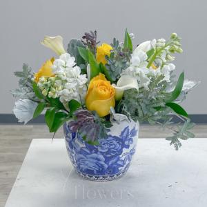 Grateful Vase Arrangement in Middletown, NJ | Fine Flowers
