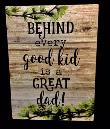Great Dad Measure 6.00 x 1.50 x 8.00