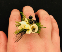 Great Gatsby Ring Corsage