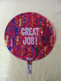 Great Job Balloon Mylar Balloon