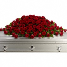 Great Love Casket Spray in Whitesboro, NY | KOWALSKI FLOWERS INC.