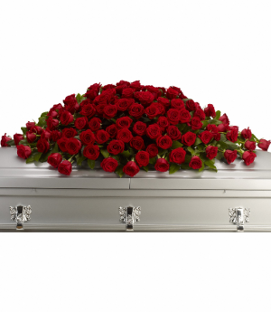 Greatest Love Casket Spray in Rossville, GA | Ensign The Florist