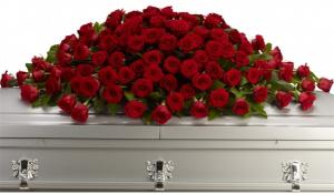 Greatest Love Casket Spray  in Arlington, TX   Erinn's Creations Florist
