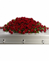 Greatest Love Casket Spray Casket Flowers