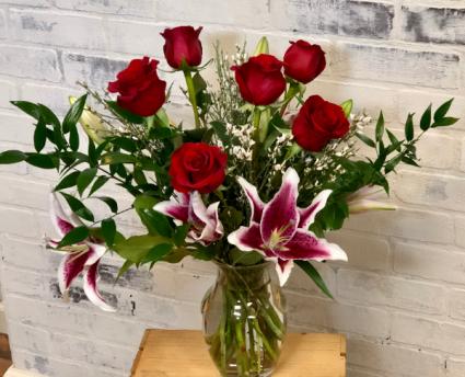 Greatest Love vase arrangement