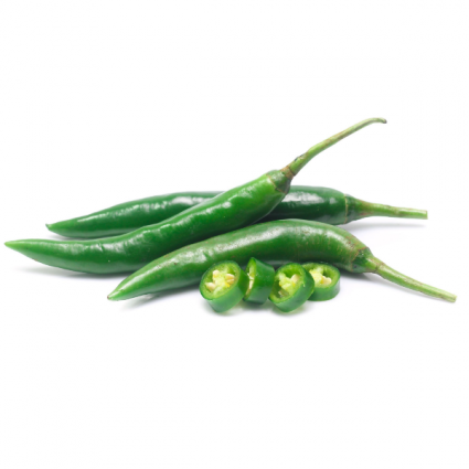 Green Chili Infused Olive Oil