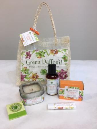 Green Daffodil Gift Set