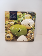 Green Easter napkins Giftware