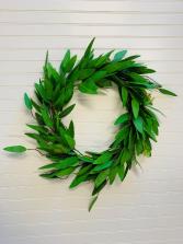 Green Eucalyptus Artificial Door Wreath