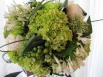 GREEN GODDESS Hand-Tied Bouquet