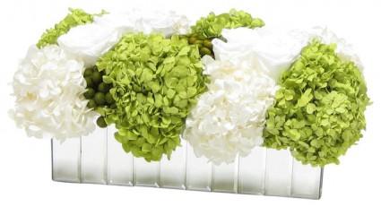 Green Obsession  Oblong Arrangement