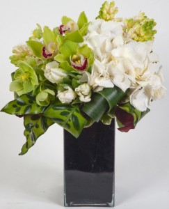 "Green Sapphire A True Gem of Green Orchids and Hydrangea ""Lavish Collection Must be pre-ordered 3 days in advance""  in Monument, CO 