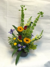 Green Summer Floral Design